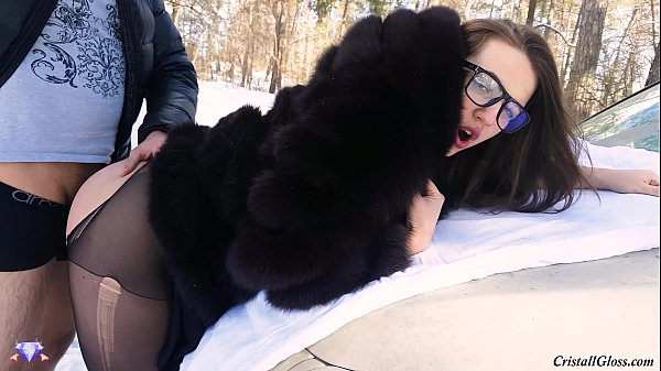 Slut Wife, Fucking in Сar on Road!!!