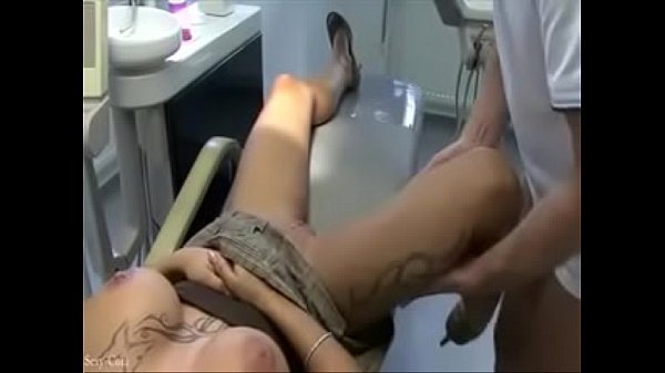 Doctor touches her while he anesthetizes her