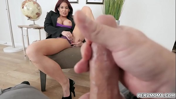 Ryder Skye masturbates in front of stepson too!