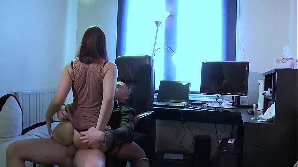 Anna Polina, ass fucked by a perverse motorist.