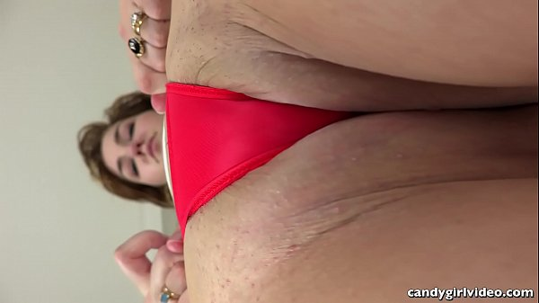 Skye Blue Panty Teasing in Micro Thong and Breast Play Thumb