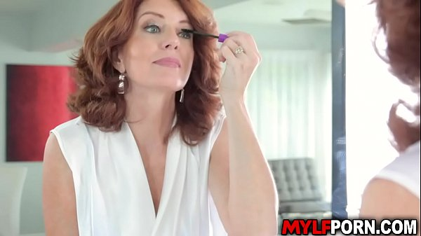 Bustylicious MILF Andi James seduces her stepson and got fucked in the bathroom.She gets wild as she got pounded hard while her huge tits.