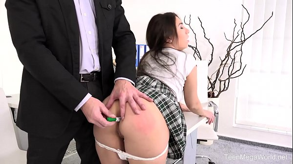 FuckStudies.com - Little Candy - Lazy student gets anal orgasm as punishment