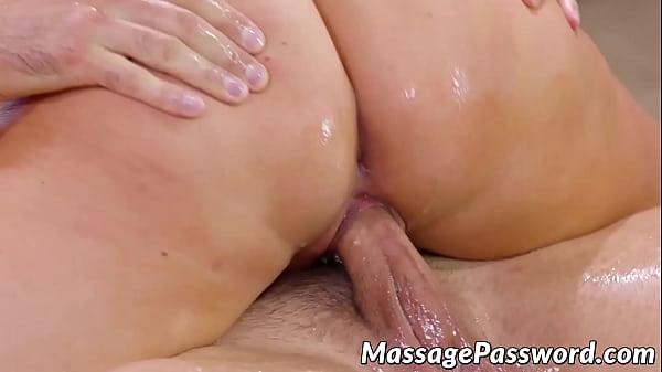 Busty erotic masseur Jasmine Jae doggystyle hard pounded