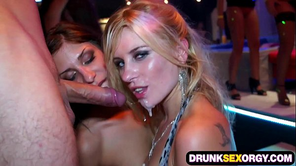 Crazy party with cum hungry chicks