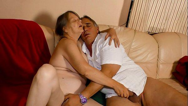 XXX OMAS - Naughty German granny enjoys hot har...