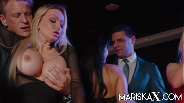 MARISKAX Orgy with Mariska and her friends - Part 1
