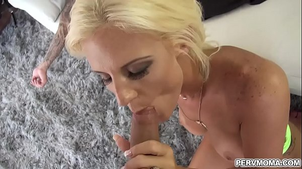 Milf pussy is getting romp from behind by a step sons long erected cock