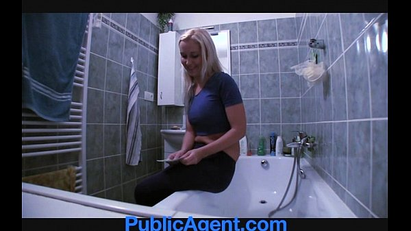 PublicAgent Fit Young Babe needs a plumber Thumb