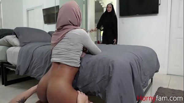 Pleasuring My Sister In Her Hijab- Milu Blaze