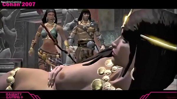 Conan all sex scenes (2004 - Exiles)