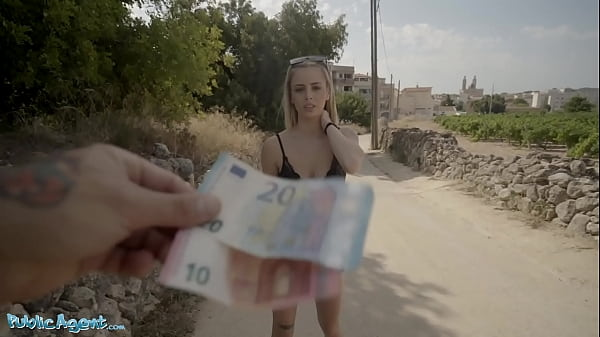 Public Agent Cute Spanish Blonde Lya Missy Fucked in the Forest