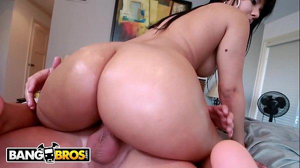 BANGBROS - Latina Rose Monroe And Her Perfect Natural Big Ass