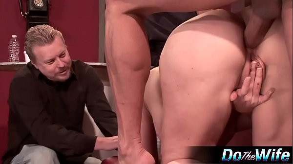 Wife gets analed in front of husband