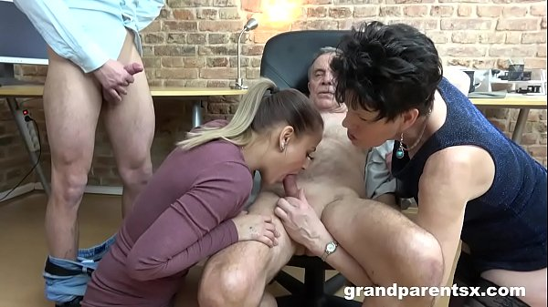 Old vs Young Awkward Fucking Session