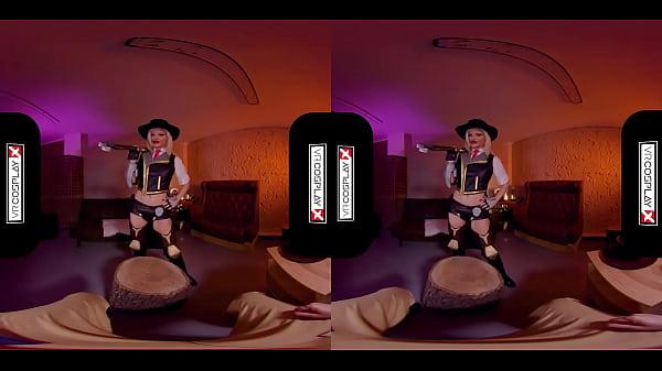 Overwatch: Ashe XXX Cosplay Virtual Sex