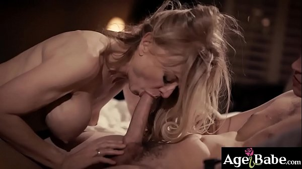 Sexy GILF Nina Hartley was attracted to her new...