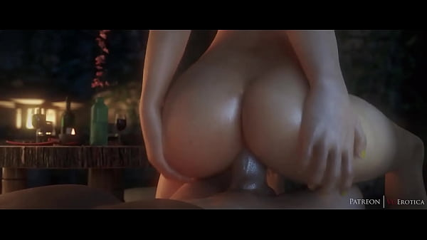Tracer Fucked Reverse Cowgirl Overwatch (Blende...