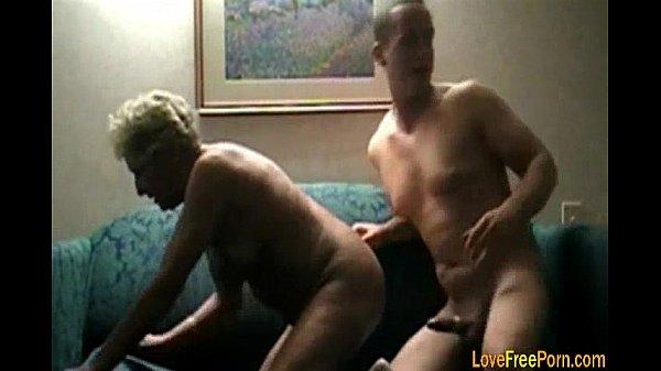 Blonde Granny Woman Fuck Hard
