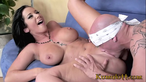 Kumalott - Black Hair MILF JAYDEN JAMES Fucked By Muscular Bad Boy Thumb