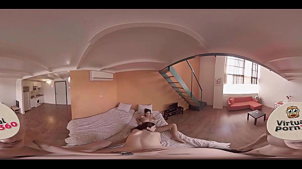 VR Porn Hot roommates enjoy their great sex