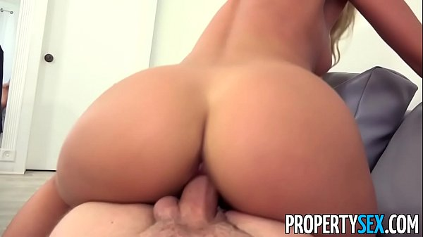 PropertySex - Tenant bounces checks fucks big landlord cock