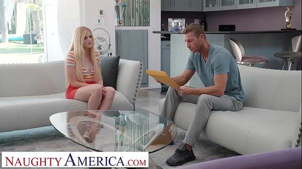 Naughty America - Nikki Sweet fucks in order to get the babysitting job