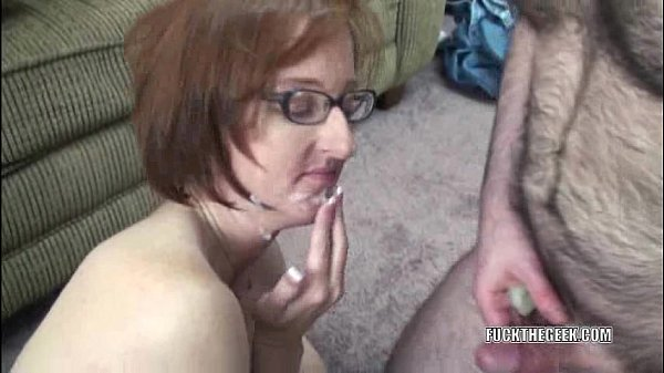 Mature Layla in a short skirt and riding a cock