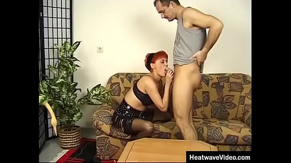 Older guy fucked redhead wife
