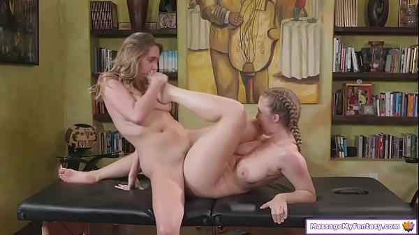 Masseuse massage the mistress of husband