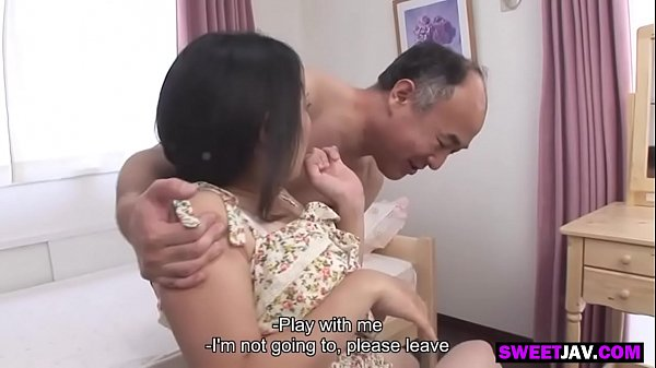 the old japanese man and the cute girl Thumb