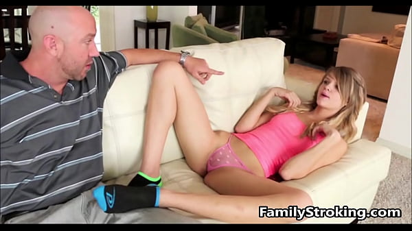 Dad and Teen Step Daughter Fuck - FamilyStrokin...