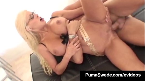 Nordic Amazon Puma Swede Squirts After Face Banging A Cock! Thumb