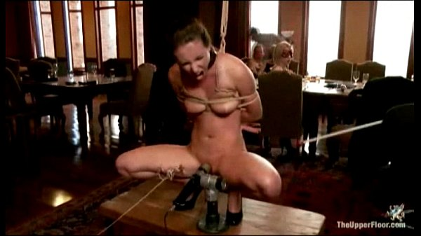 Hot slave bruttally a. at on the upper kinky floor