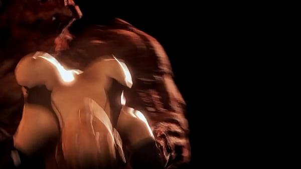 Kunoichi VS Monsters HARDCORE Version - Med94