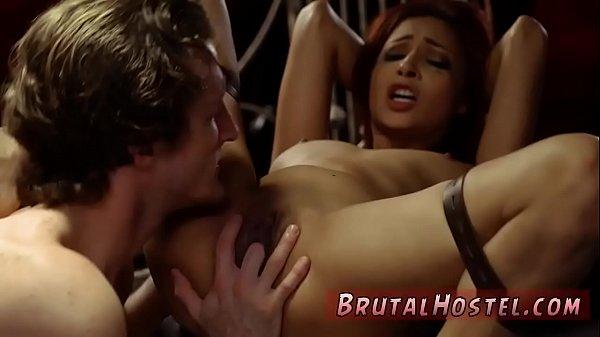 bondage gangbang ass licking