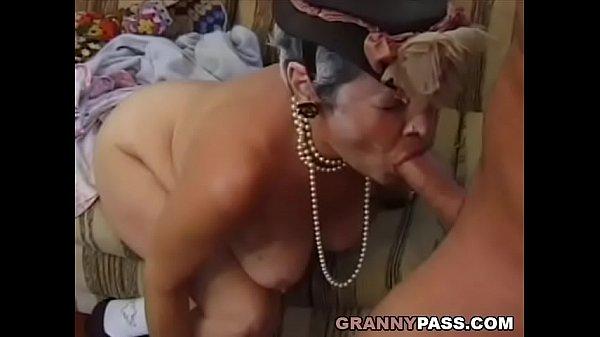 Grandma Fucks Young Dick