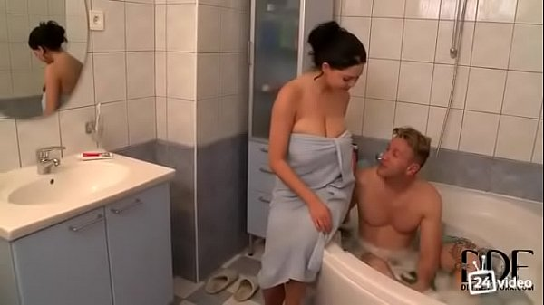 Girl with big natural Tits gets fucked in the shower  thumbnail