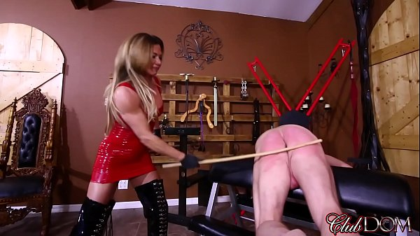 Turning Her Slave's Ass Red/ Draining Her Slave's Filth