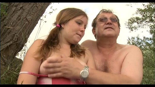 Cute young angel fucked by old lad Thumb