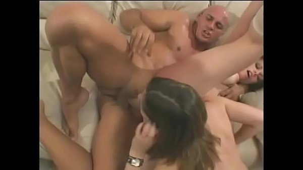 Sexy babes Lola Dita with Gia Paloma get their cunts and assholes drilled by big cock