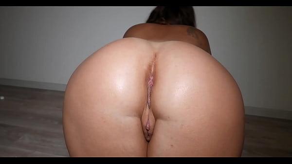 Big Ass Fucking Dildo and Cum - Cristall Gloss
