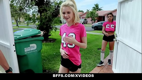 BFFS - Horny Soccer Girls (Aspen Celeste) Fucked by Trainers Thumb