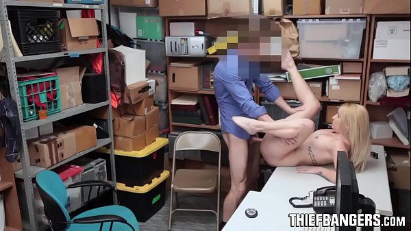 Chubby Blonde Teen Shoplifter Carmen Callaway Strip Searched & Fucked
