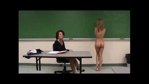 Briella Jaden Nude in School