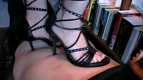 Back Trampling in Heels (Stomach Demolition
