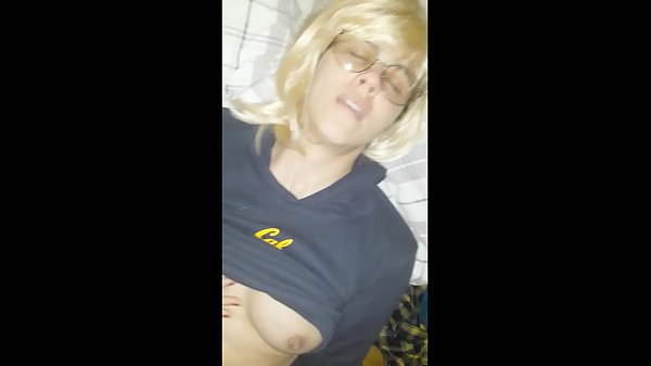 Guy finds d. girl Sasha masturbating, and then fucks her