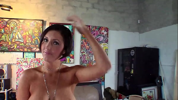 Busty american milf with her wet pussy lets herself be fucked by her son's friend