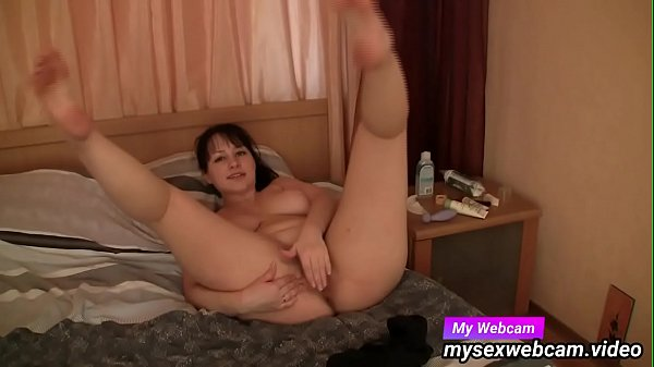 MILF chat and play with toy