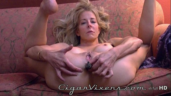 Diana Love ANAL cigar BLOOPER, from the archives